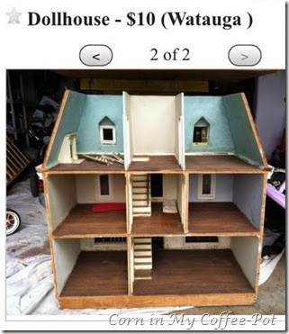 DOLLHOUSE NO2 7ROOMS 3 STORIES
