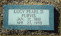 Lucy Pearl Purvis