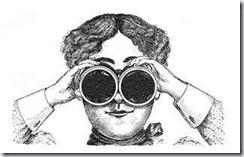 binoclular lady