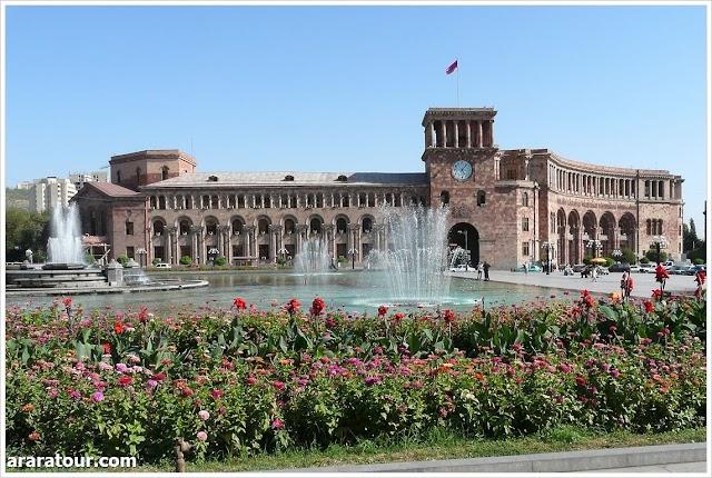 Площадь Республики.