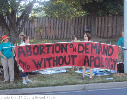 'Abortion on Demand and Without Apology' photo (c) 2011, Debra Sweet - license: http://creativecommons.org/licenses/by/2.0/