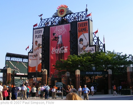 '1 - Camden Yards' photo (c) 2007, Paul Simpson - license: http://creativecommons.org/licenses/by/2.0/