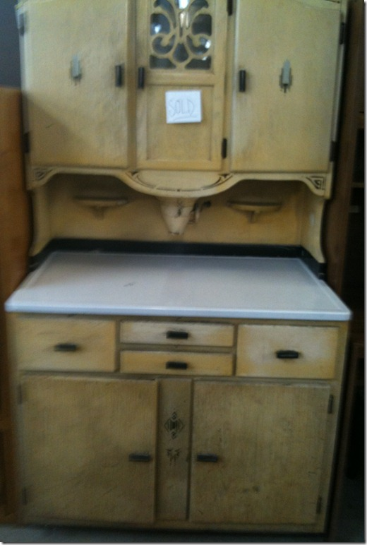 Antique Hoosier Cabinet - Vintage Restyled: Antique Hoosier Cabinet