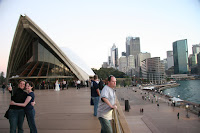 Hanging out at the Opera House