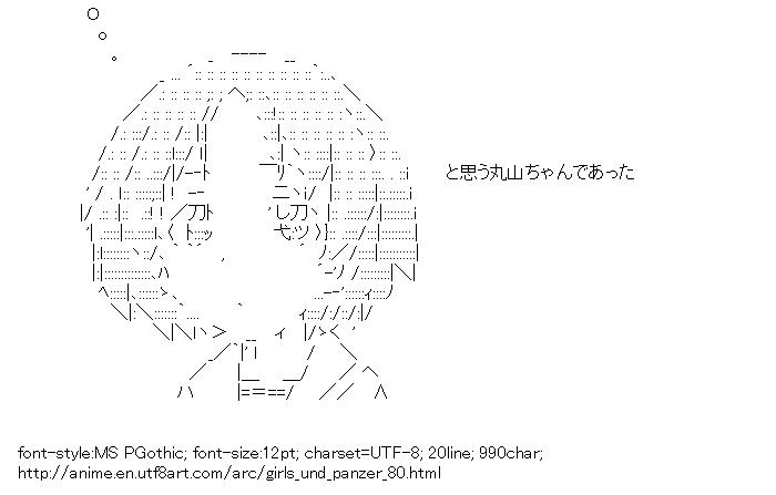 Girls und Panzer,Maruyama Saki