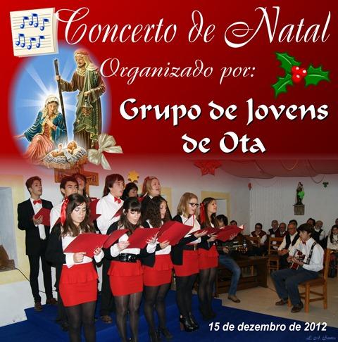 Concerto Natal - Gr. Jovens Ota - 15.12.12