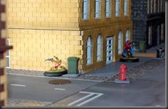 Corner clash