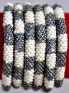 rollover bracelet grey white