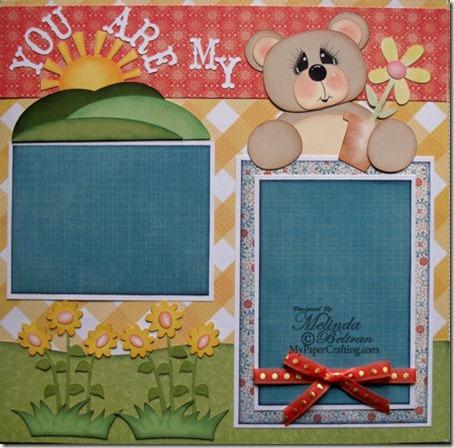 cricut cartridge country life sunshine bear idea pg1-450
