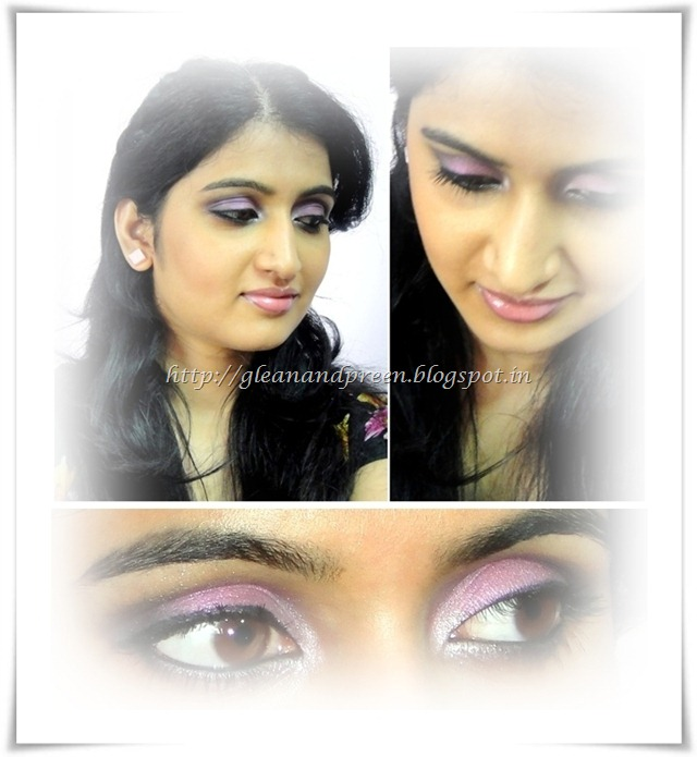 Pink Metallic Eye Makeup Look