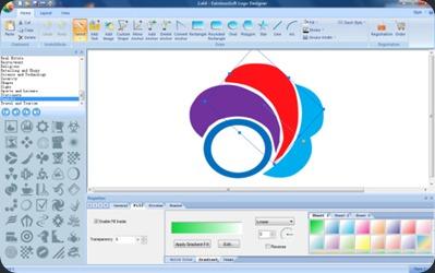 Design Logo with EximiousSoft Logo Designer