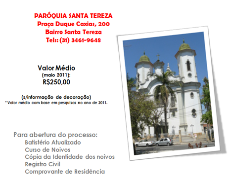 GUIA - CATOLICA - PAROQUIA SANTA TEREZA