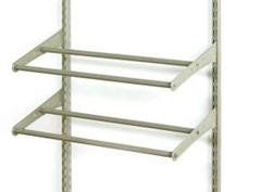 Merveilleux Closetmaid Shelf Track Shoe Rack