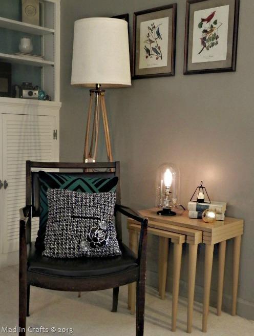 DIY Bell Jar Style Lamp