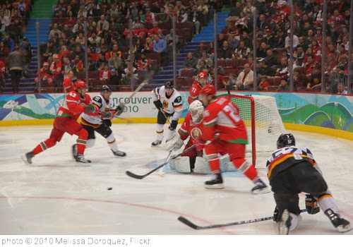 'Germany v Belarus - Olympic Hockey' photo (c) 2010, Melissa Doroquez - license: http://creativecommons.org/licenses/by-sa/2.0/