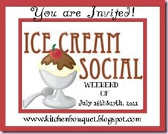 Ice Cream Social Logo 2011