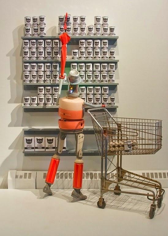 Robôs garrafas térmicas 04