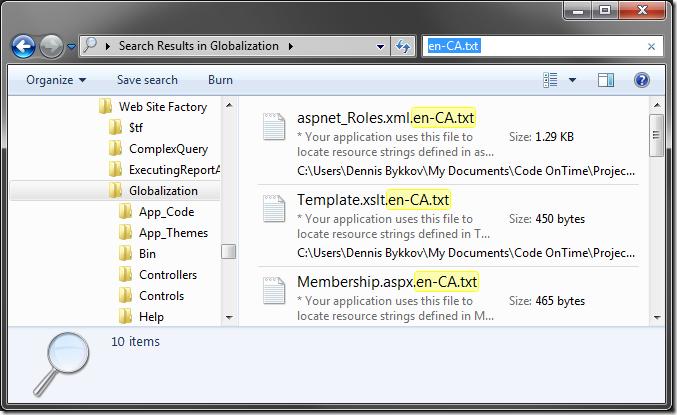 All localization files for 'en-CA' culture.