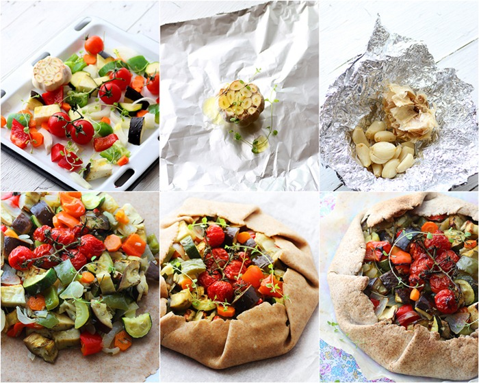 Vegetable Galette 8
