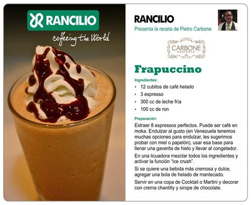 Rancilio_Frapuccino