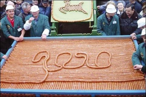 longest-sausage