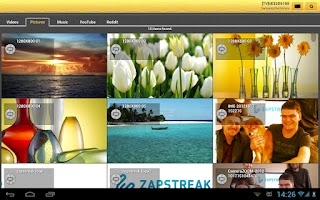 Screenshot of Shortbeam™ TV Media Player