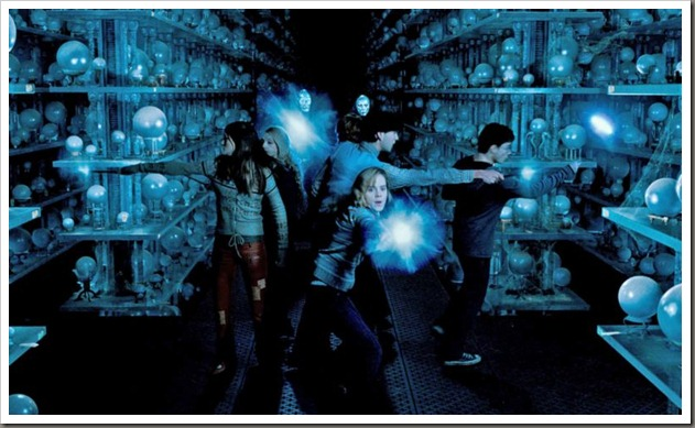 "(L-r) EVANNA LYNCH as Luna Lovegood, EMMA WATSON as Hermione Granger, MATTHEW LEWIS as Neville Longbottom and DANIEL RADCLIFFE as Harry Potter in Warner Bros. Pictures' fantasy ""Harry Potter and the Order of the Phoenix.""<br />PHOTOGRAPHS TO BE USED SOLELY FOR ADVERTISING, PROMOTION, PUBLICITY OR REVIEWS OF THIS SPECIFIC MOTION PICTURE AND TO REMAIN THE PROPERTY OF THE STUDIO. NOT FOR SALE OR REDISTRIBUTION"