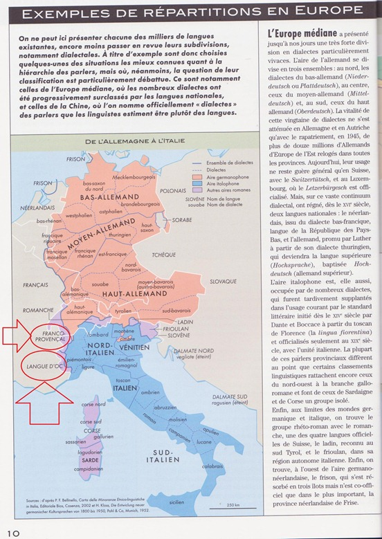 Mapa Courrier International 2