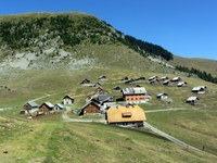 Bistriška planina z Ojstrnikom v ozadju