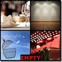 EMPTY- 4 Pics 1 Word Answers 3 Letters