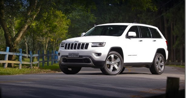 Jeep trará novos Cherokee e Grand Cherokee para o Brasil em 2014