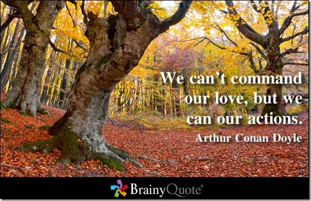 não se pode comandar o amor