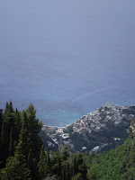 AMALFI - PORTRAIT TOWN FROM ABOVE