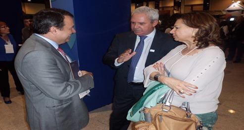 Diretor Tecnico Nacional do Sebrae, Carlos Alberto dos Santos, Zeca Melo e Betania Ramalho
