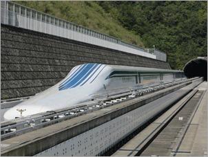 Trem de levitação magnética Maglev: o trajeto entre as cidades de Tóquio e Nagóia levará 40 minutos em 2027 ao invés das quase duas horas que o serviço de alta velocidade leva para percorrer hoje