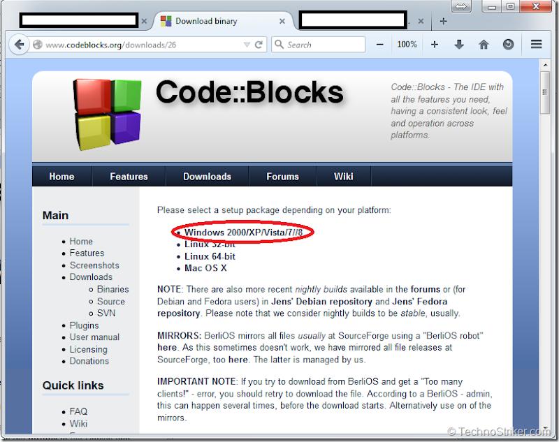 CodeBlocksforXP_Vista_7_8