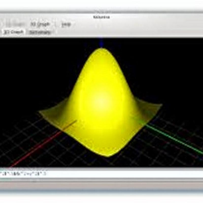 KAlgebra es una aplicación que puede sustituir su calculadora gráfica: Uso de la consola y Gráficas 2D.