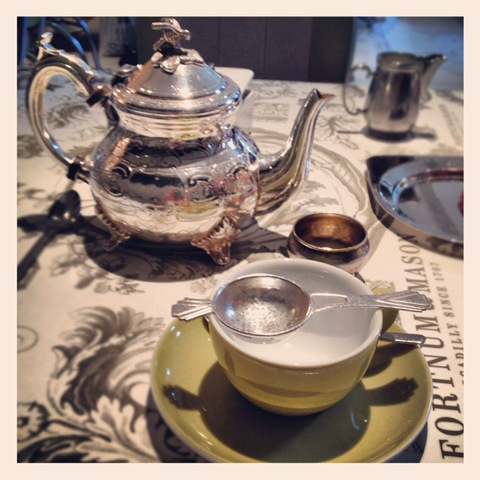Queen's blend Jubilee tea at Fortnum & Mason