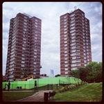 Tower Blocks in Bermondsey