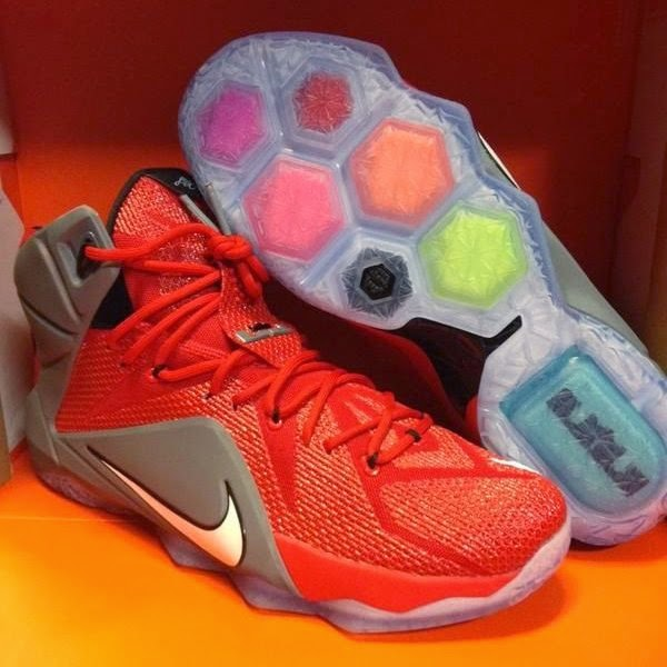 Ohio State Buckeyes Received Personalized Nike LeBron 12 Shoes
