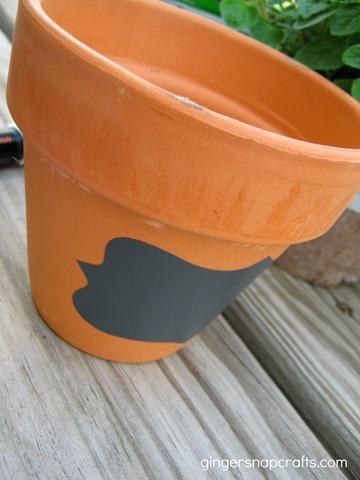 chalkboard pot