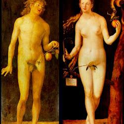 92 - Durero. Adán y Eva