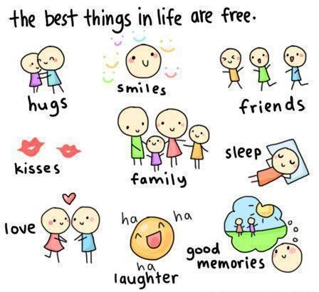 the_best_things_in_life_are_free_quote