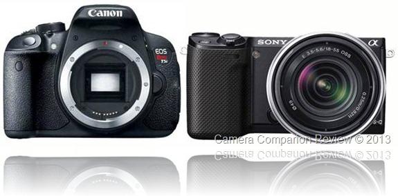 Canon 700D / T5i vs Sony NEX-5R