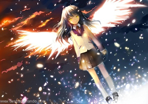 Angel Beat wallpapers anime papeis de parede download desbaratinando  (1)