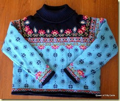 Icelandic Designs sweater