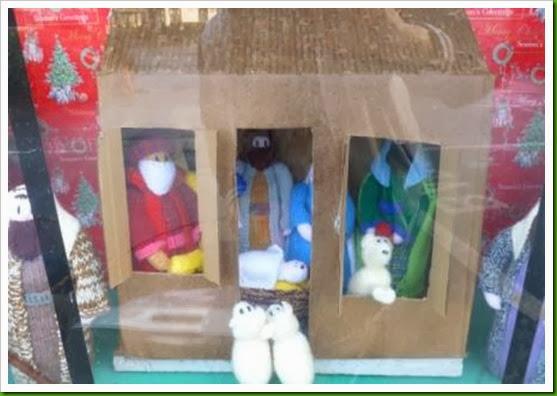 Knitted Nativity Bilbrook Motorworld