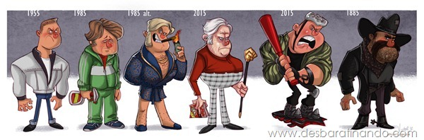 Jeff-Victor-The-Evolution-of-the-Famous-Actors-Biff-Tannen-evolution