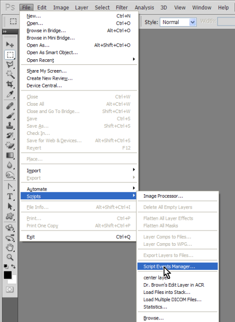 Designeasy Automate Photoshop With Script Events Manager
