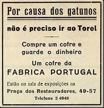 1936 Fábrica Portugal
